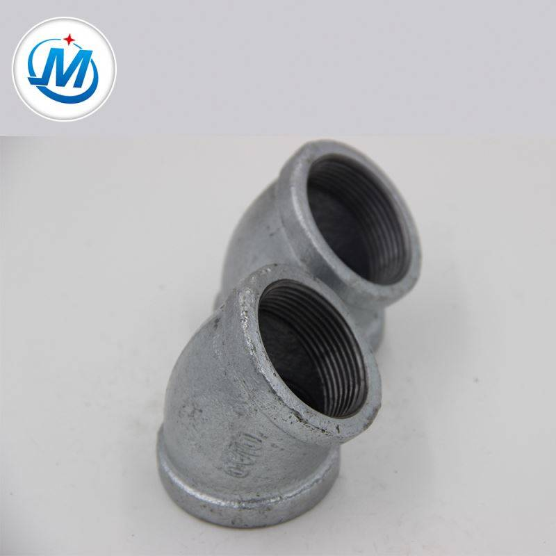 20 Years' Experience, High Quality Galvanized 45 Degree Elbow