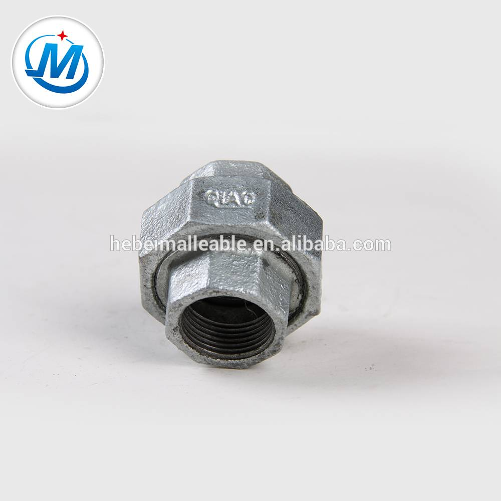 QIAO brand Malleable Iron Pipe Fitting 340 union