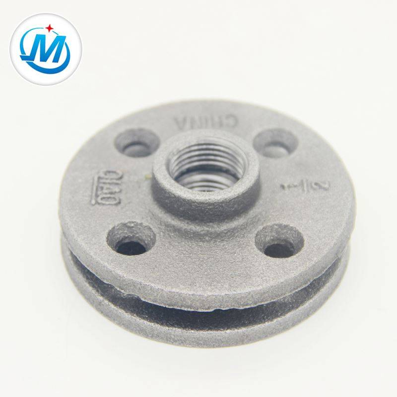 "3/4""Galvanized Connecting Threaded Malleable Iron Floor Flange"