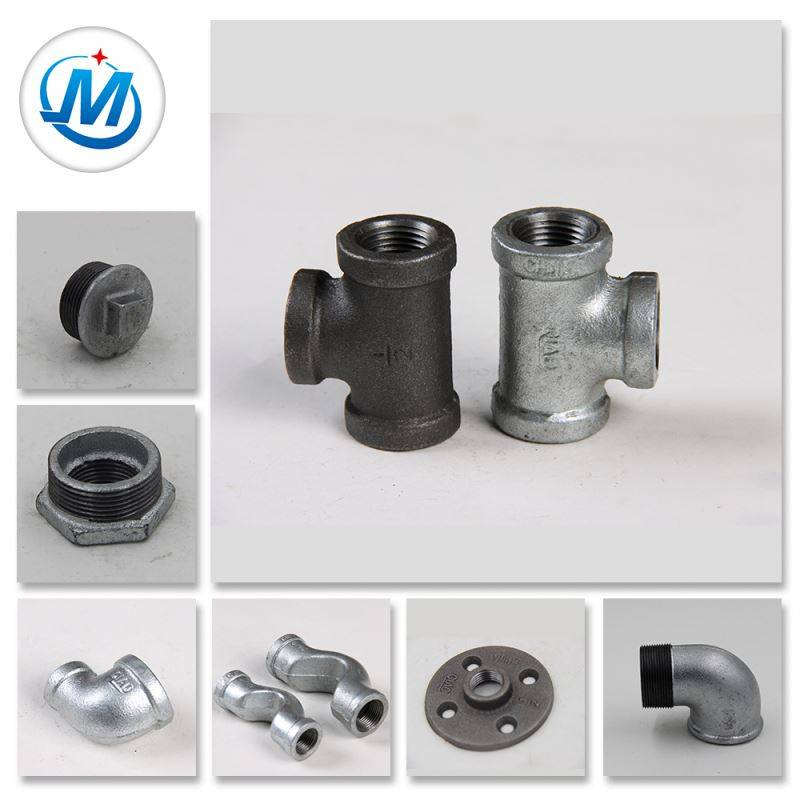 Quick Connect Hot Dipped Glav. Malleable Cast Iron Pipes Fittings