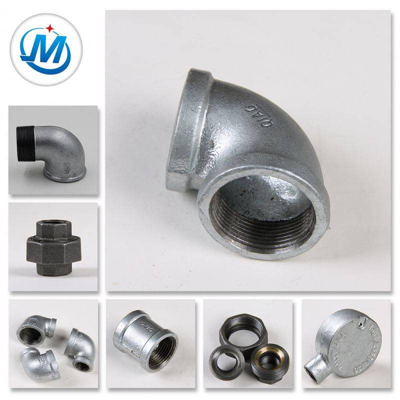 Best Price Gas Used Cross Malleable Iron Galvanized Pipe Fittings Connection