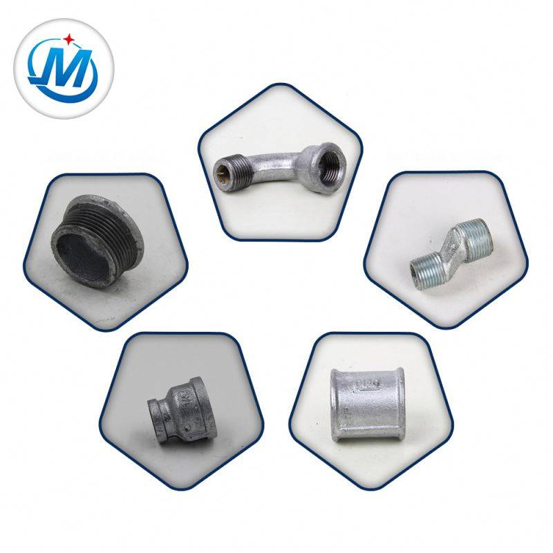 Connectors Joints Malleable Iron Gas Fittings For Pipes