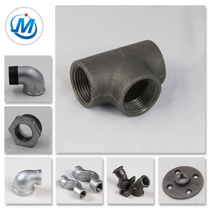 Passed ISO 9001 Test Water Supply Casting Iron Parts Pipe Fittings Product