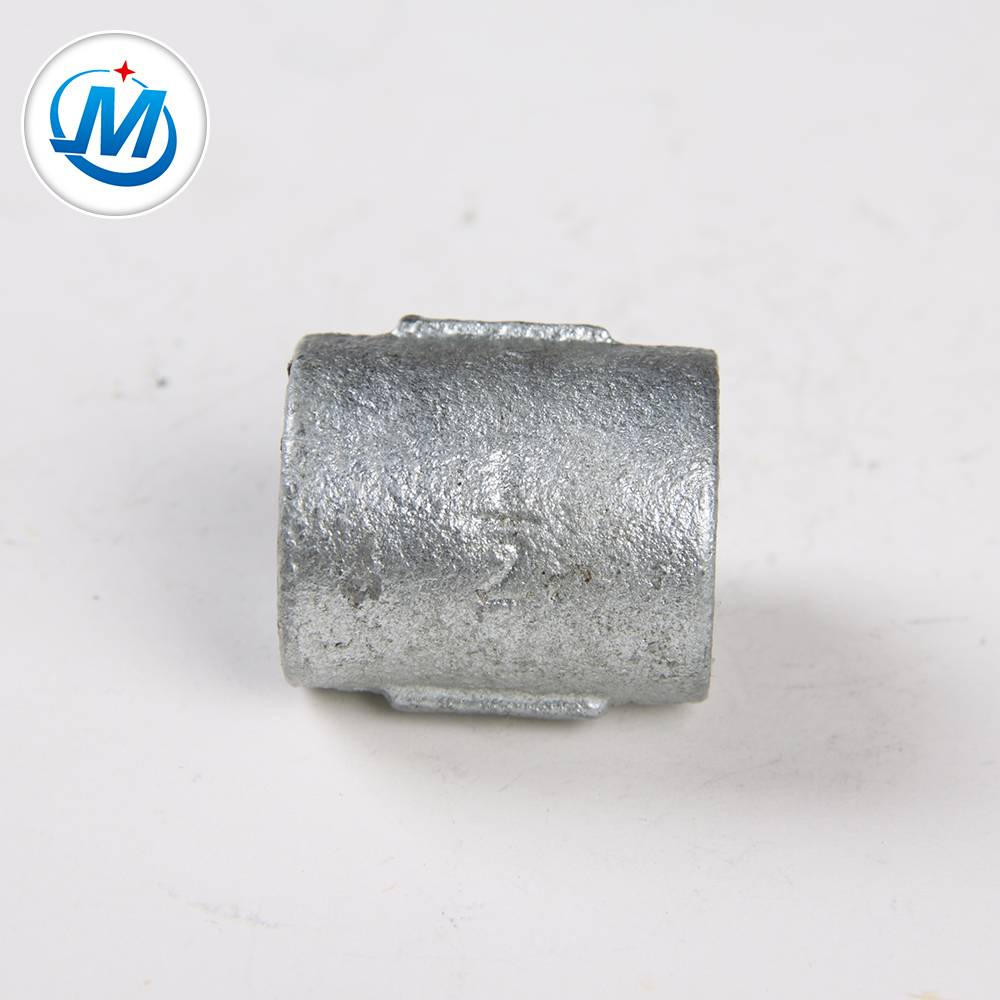Jinmai malleable iron pipe fitting din plain socket pipe fitting
