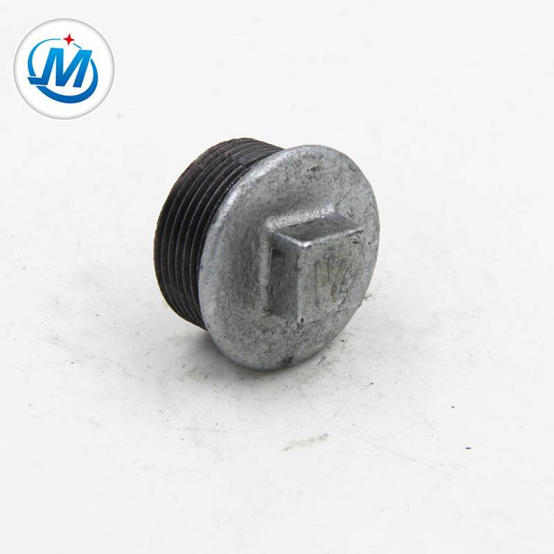 China wholesale Square Plug Fitting - High Praise Water Supply Pipe Fitting Galv Plug – Jinmai Casting