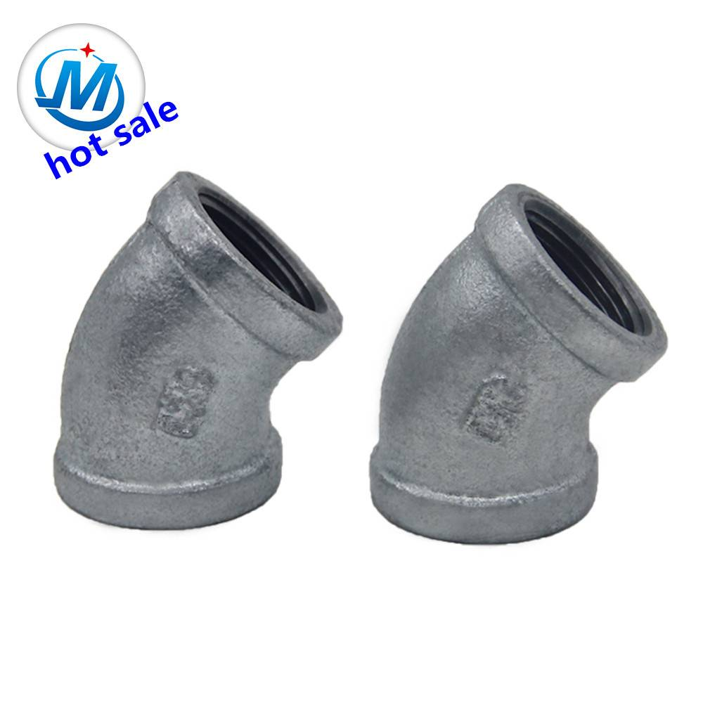Investment Casting Pipes and Fittings elbow 45degree number120