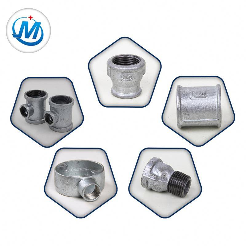 Din Thread Water And Gas Malleable Iron Pipe Fitting