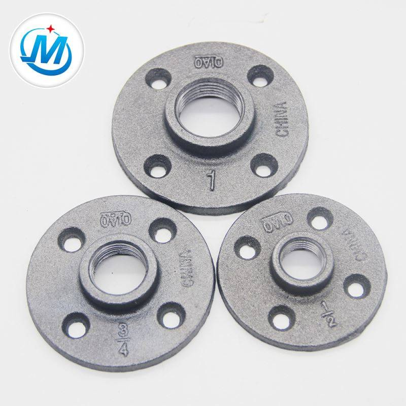 "1.6Mpa Working Pressure 1/2"" To 6"" Casting Iron Threaded Flange"