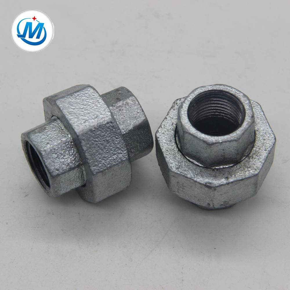 unik pipe fittings concial joint iron to iron union