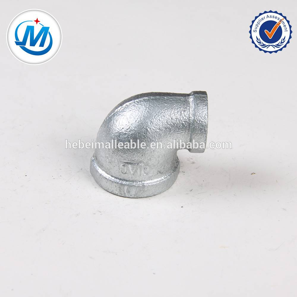 strong gal malleable iron pipe fitting elbow