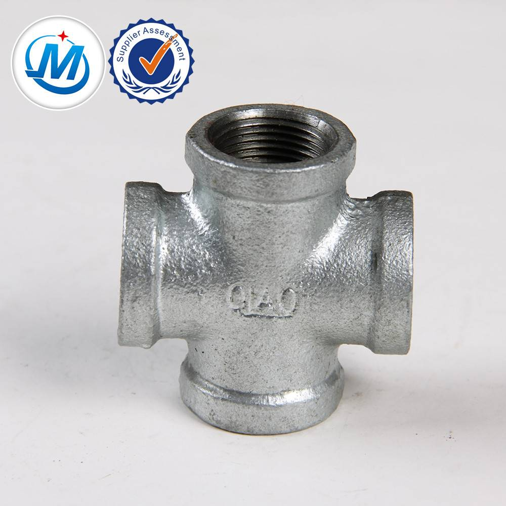 hot galvanized malleable iron pipe fitting casting iron used for plumbing material