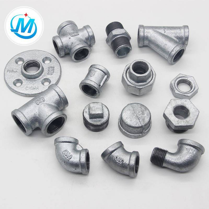 galvanized b.s.standard malleable iron pipe fitting