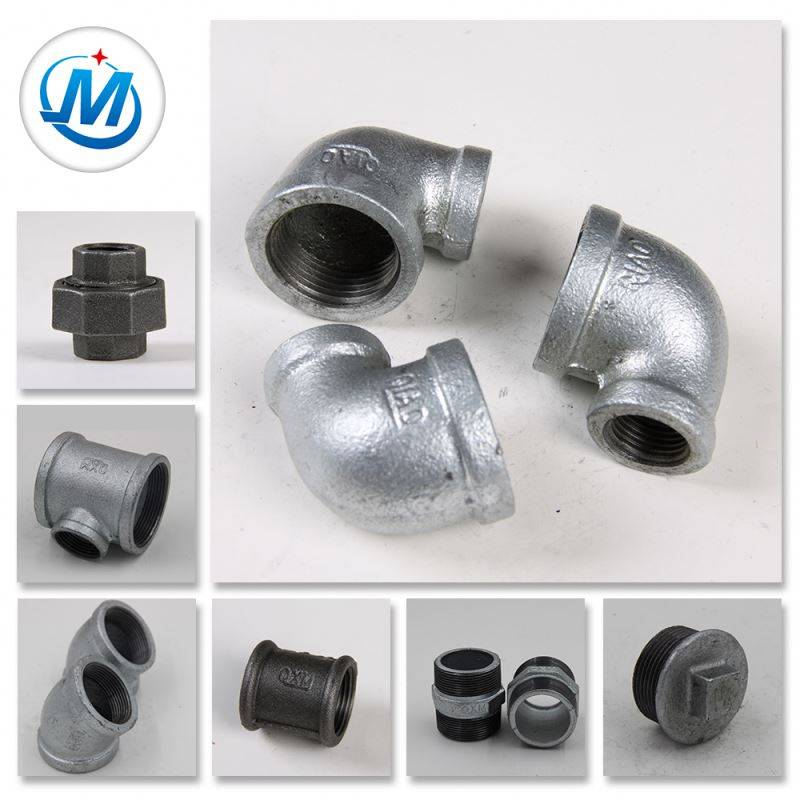 Steam Used Different Diameter Irrigation Malleable Iron Pipe Fittings