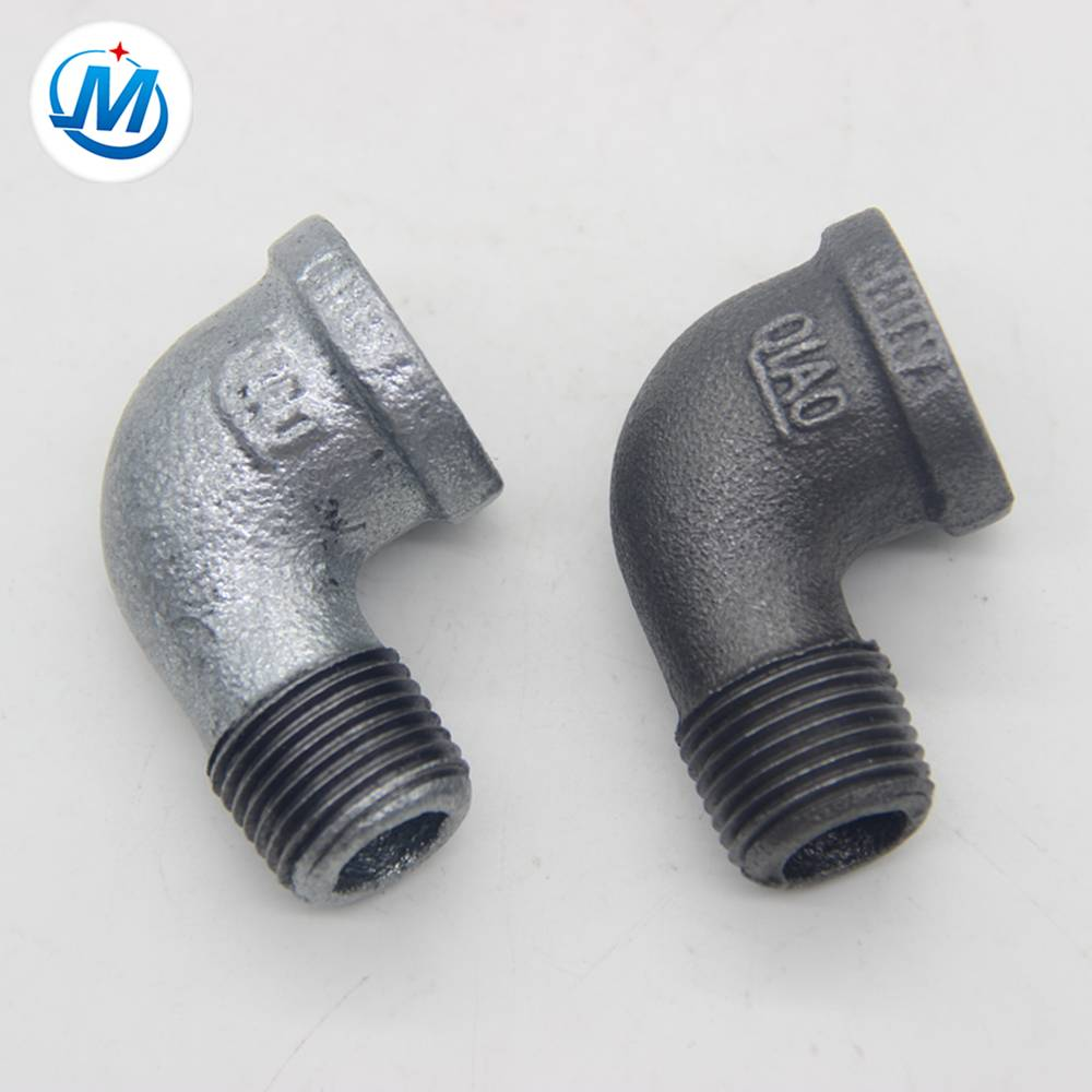 hebei plumbing pipe fitting male/female 90 deg elbow