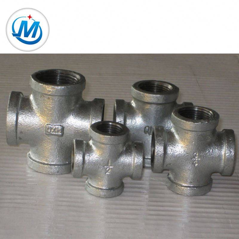 Original Factory Rainclear Ductile Iron Pipe Fitting - Reliable Quality 2.4mpa Test Pressure Metal Pipe Fittings Cross – Jinmai Casting