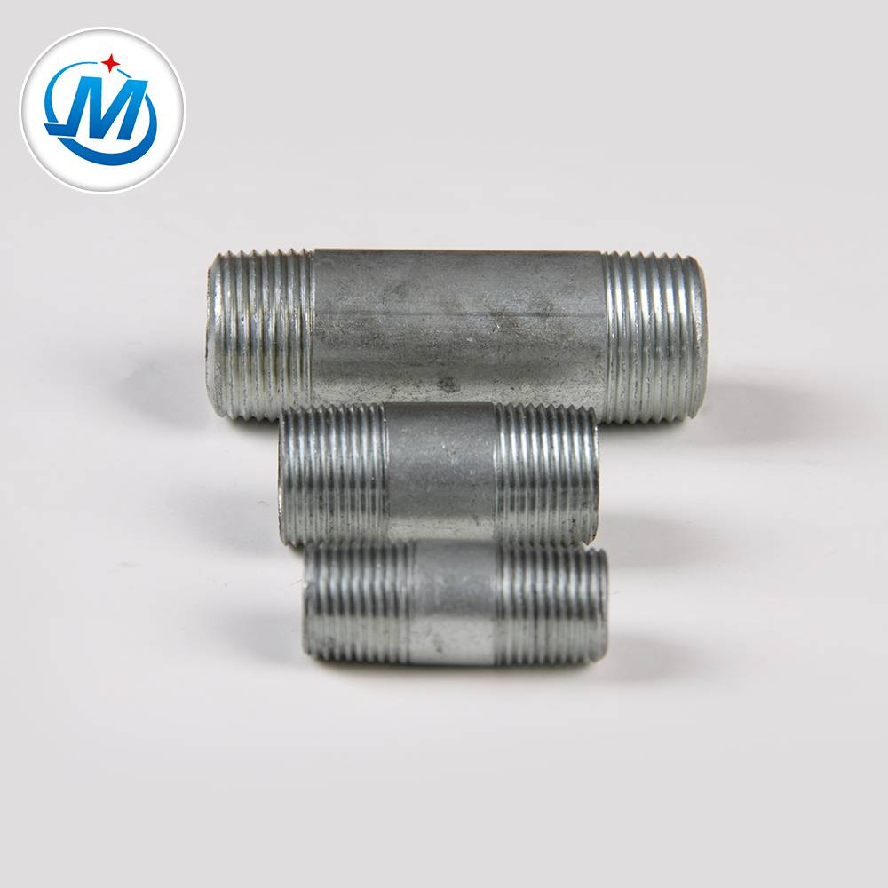 "1-1/4"" ANSI threading carbon steel pipe nipple Featured Image"
