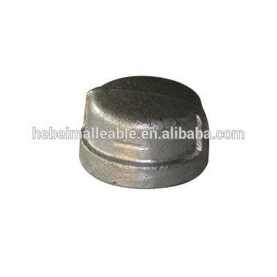 galvanized ductile iron high pressure metal pipe fitting caps manufacturer