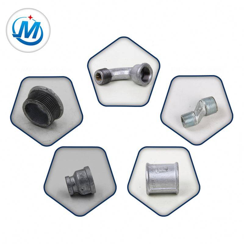 Passed ISO 9001 Test For Gas Connect Best Price Galvanized Water Supply Pipe Fittings
