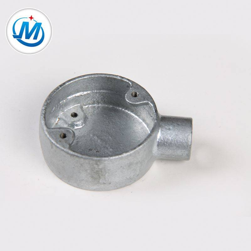 Passed ISO 9001 Test Water Supply Malleable Galvanized Iron Junction Box