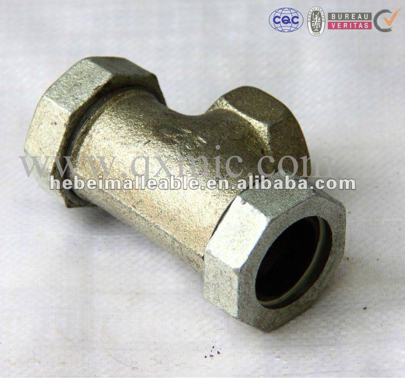 GI pipe fitting quick coupling