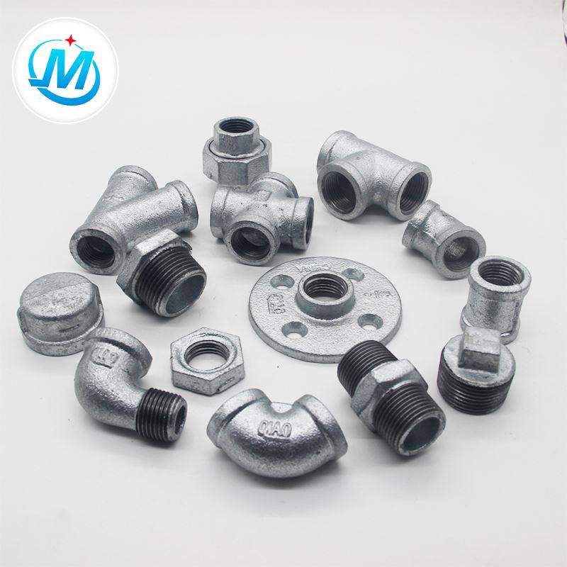 excellent material decorate fitting malleable iron pipe fitting