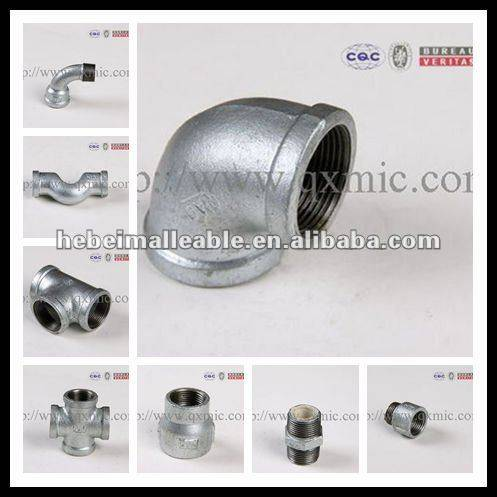 Special Design for Gi Malleable Iron Pipe Fitting -