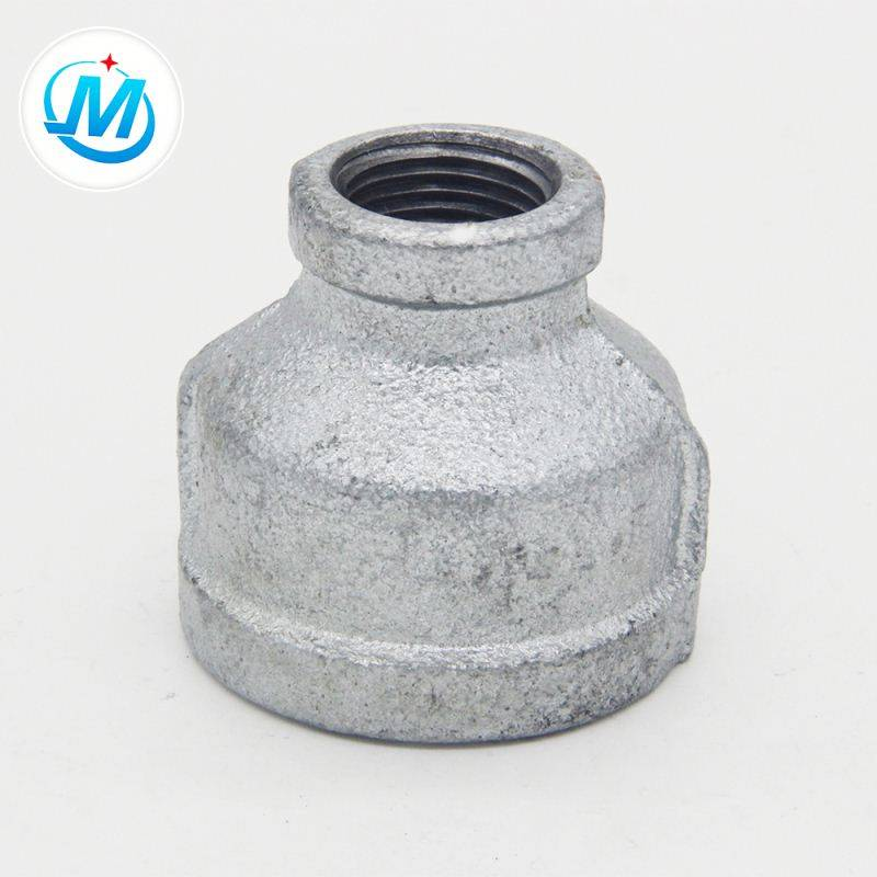Malleable Iron Bsp Reducing Socket Banded With Npt Thread