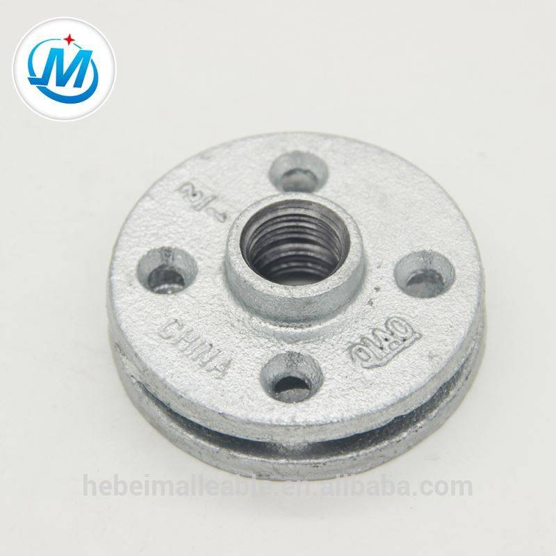 galvanised water pipe fitting flange