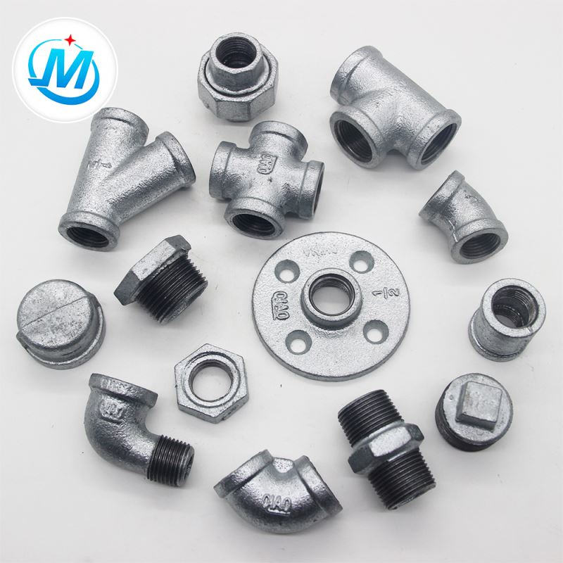 galvanized galvanized malleable iron pipe casting fitting