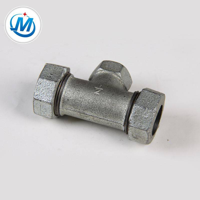 For Gas Connect NPT Standard Different Types Pipe Fitting Compression Tees