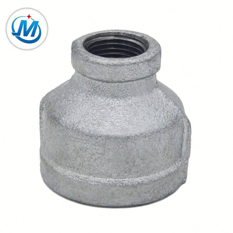 See Iron Pipe Fittings Galvanized Atehinwa Socket fi ọjá Pẹlu Npt Tẹle