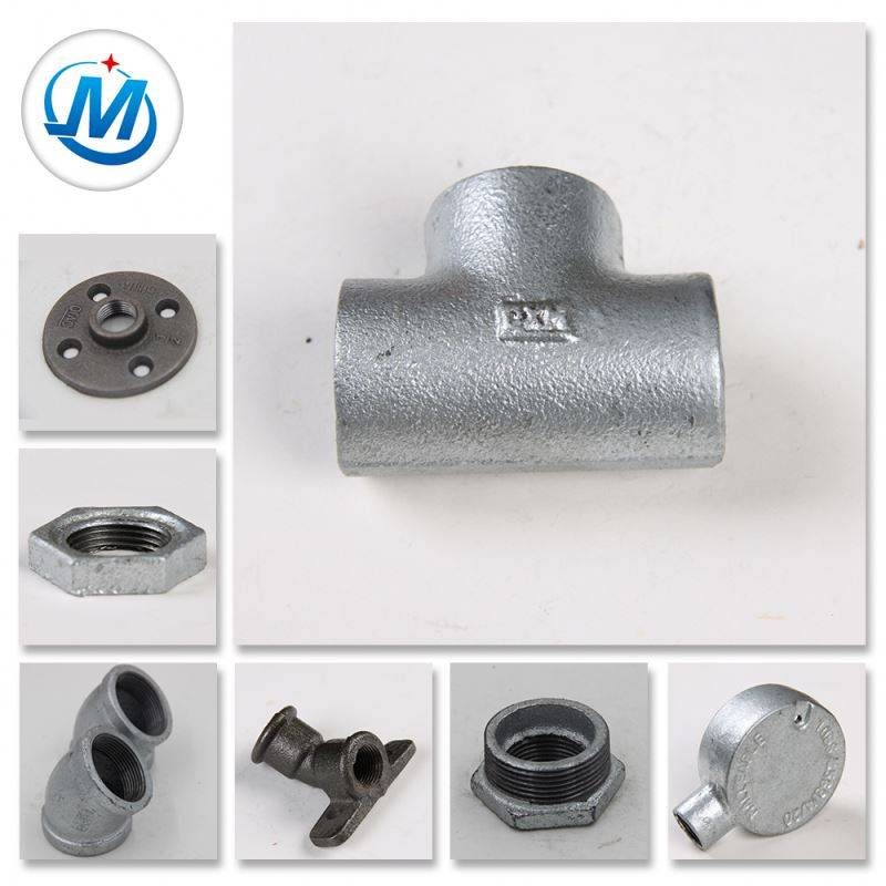 Gas Oil Used Beaded Malleable Iron Pipe Fittings