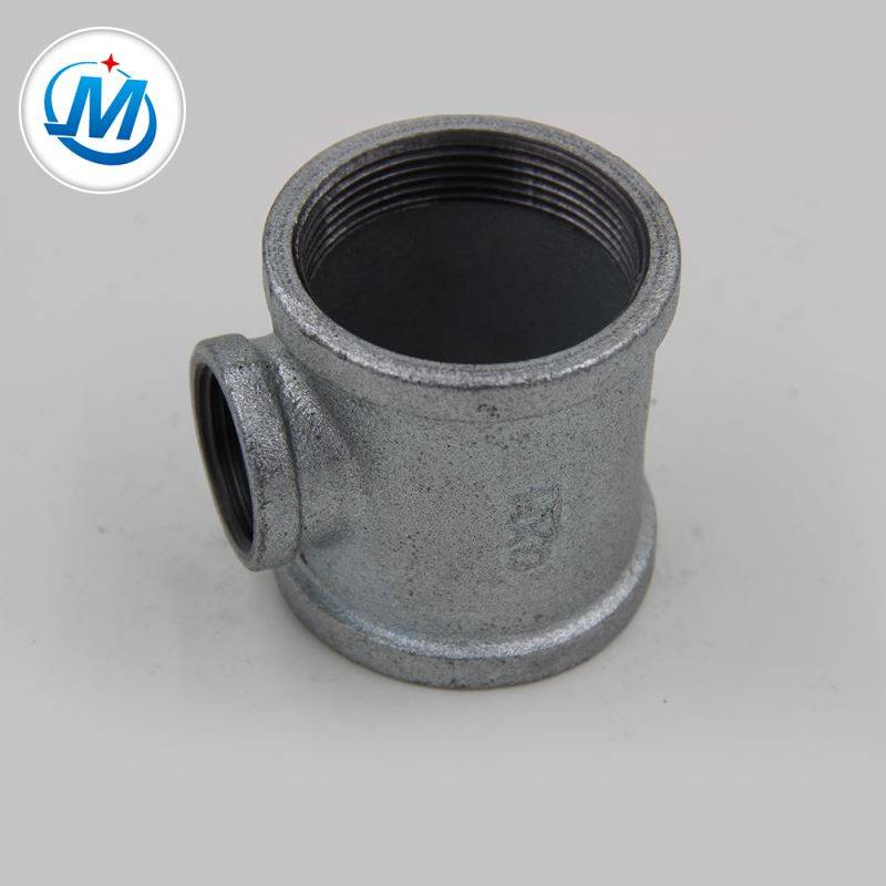 2000 ton / month Production Ability Standard GI Reducing Tee Pipe Fitting