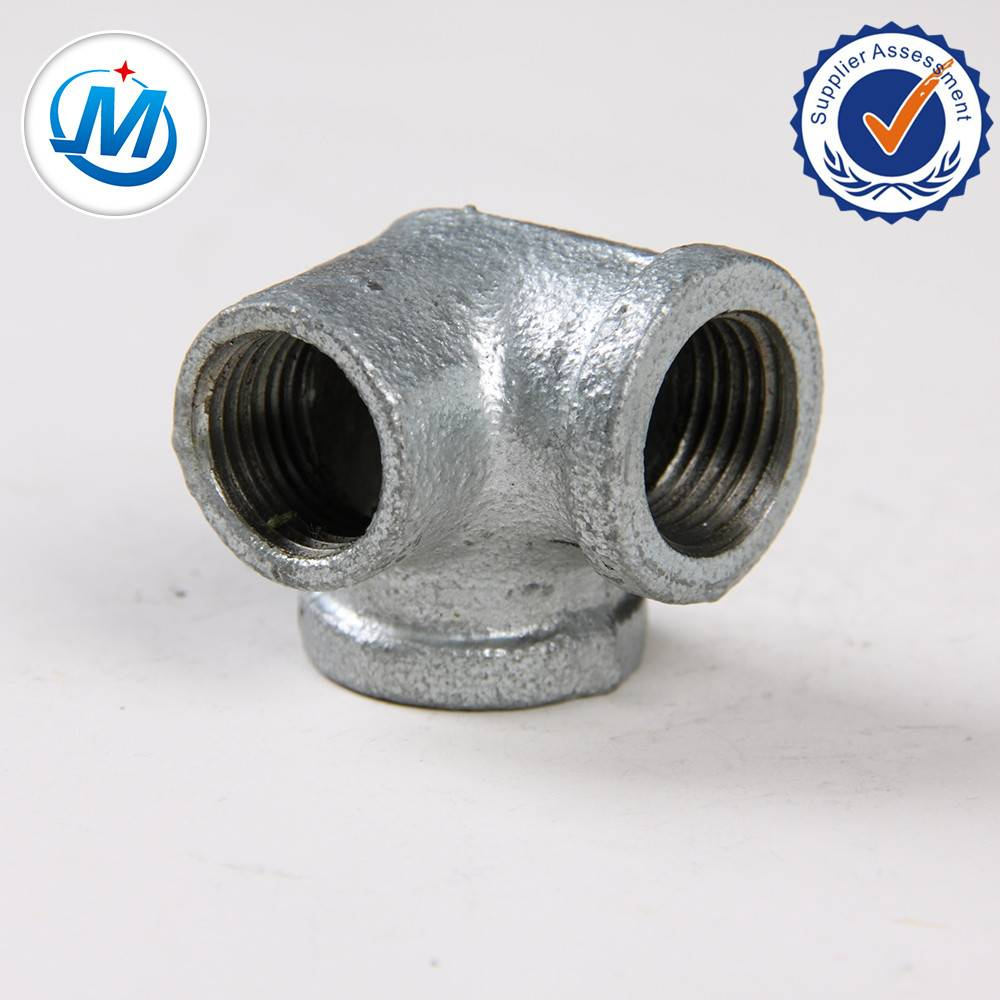 Black Malleable Iron Pipe Fittings Side Outlet Elbow