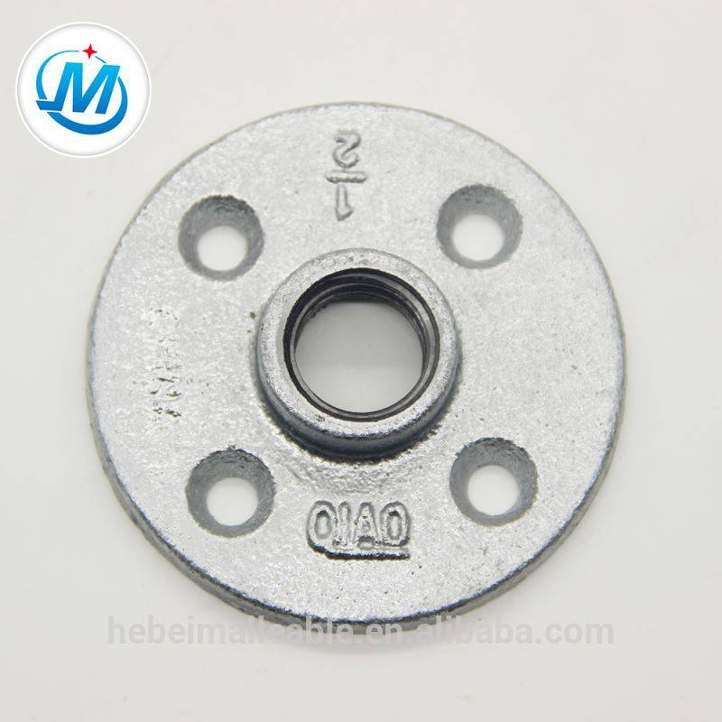 malleable iron pipe floor flange supplier