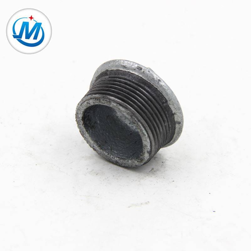 Lowest Price for Different Types Pipe Fittings - BV Certification For Water Connect As Media Malleable Iron Fitting Stopping Plug – Jinmai Casting