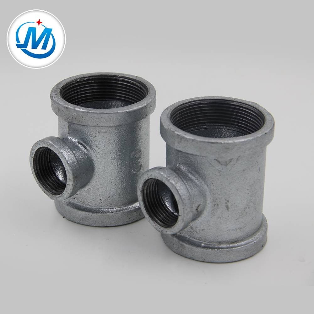 "1/2"" banded cast iron pipe fitting Reducing Tee"