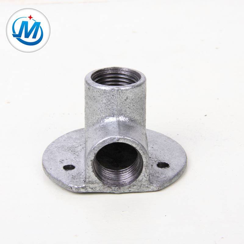 Carring Out the Contract Seriously For Water Connect Malleable Iron Pipe Fitting Elbow with Flatseat