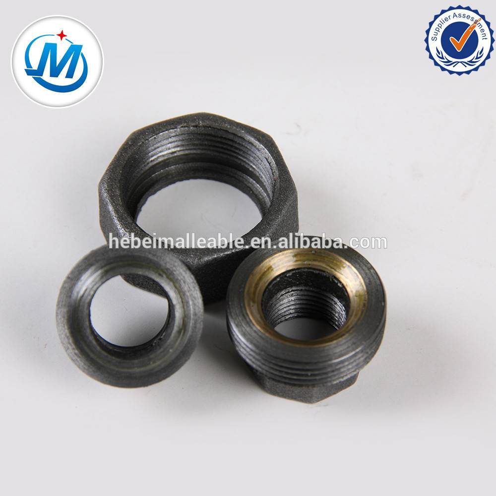 Hot Piped Galvanized Malleable Iron Pipe Fitting Union 342
