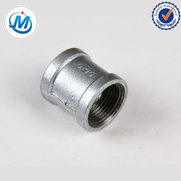 Factory Phahameng Quality Threaded lahleloa bonolo Tšepe Pipe Fittings