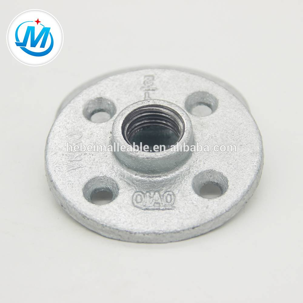 Longer Service Life Cast Iron Galvanized Pipe Flange
