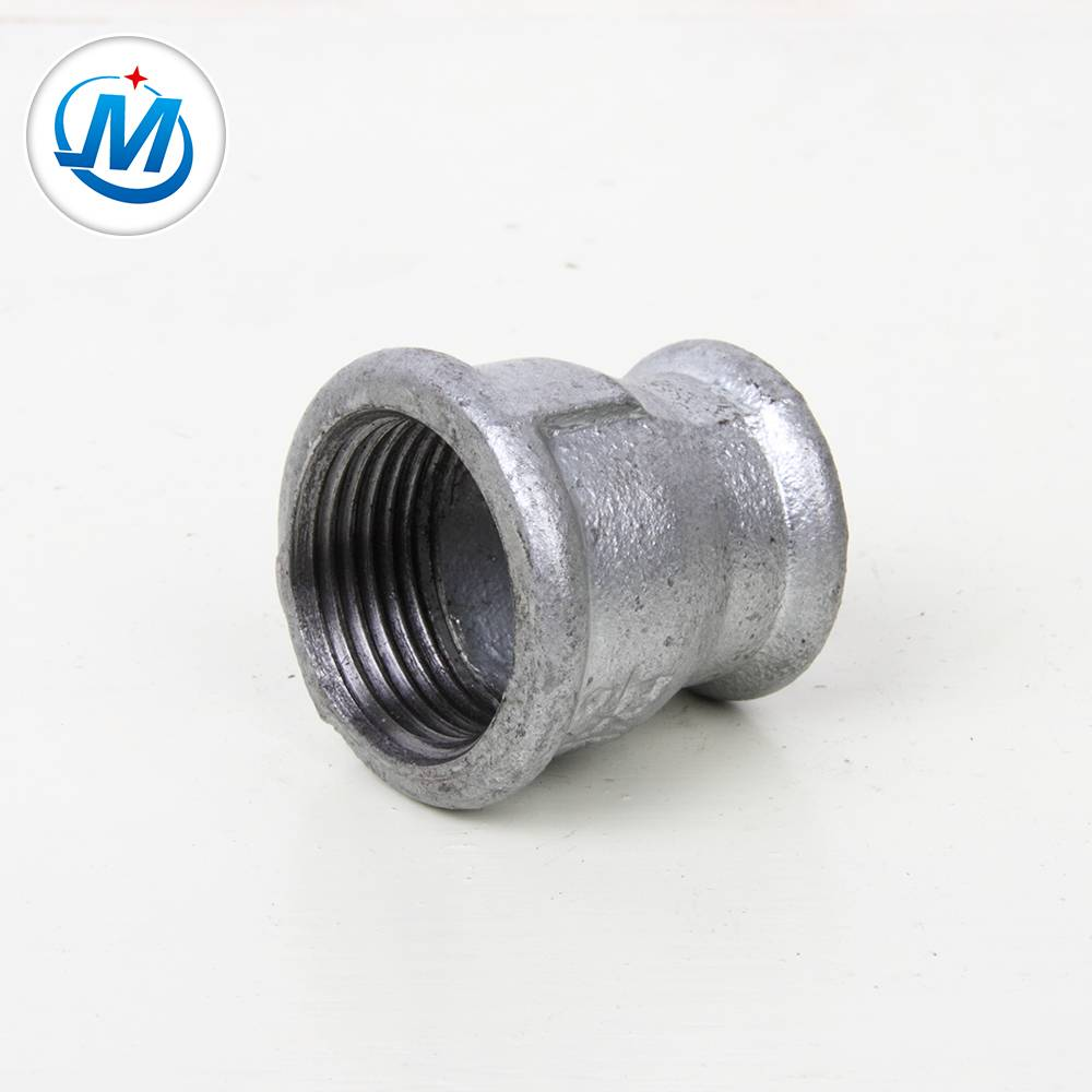 1/2'' 3/4'' black malleable iron pipe fitting Reducing Socket
