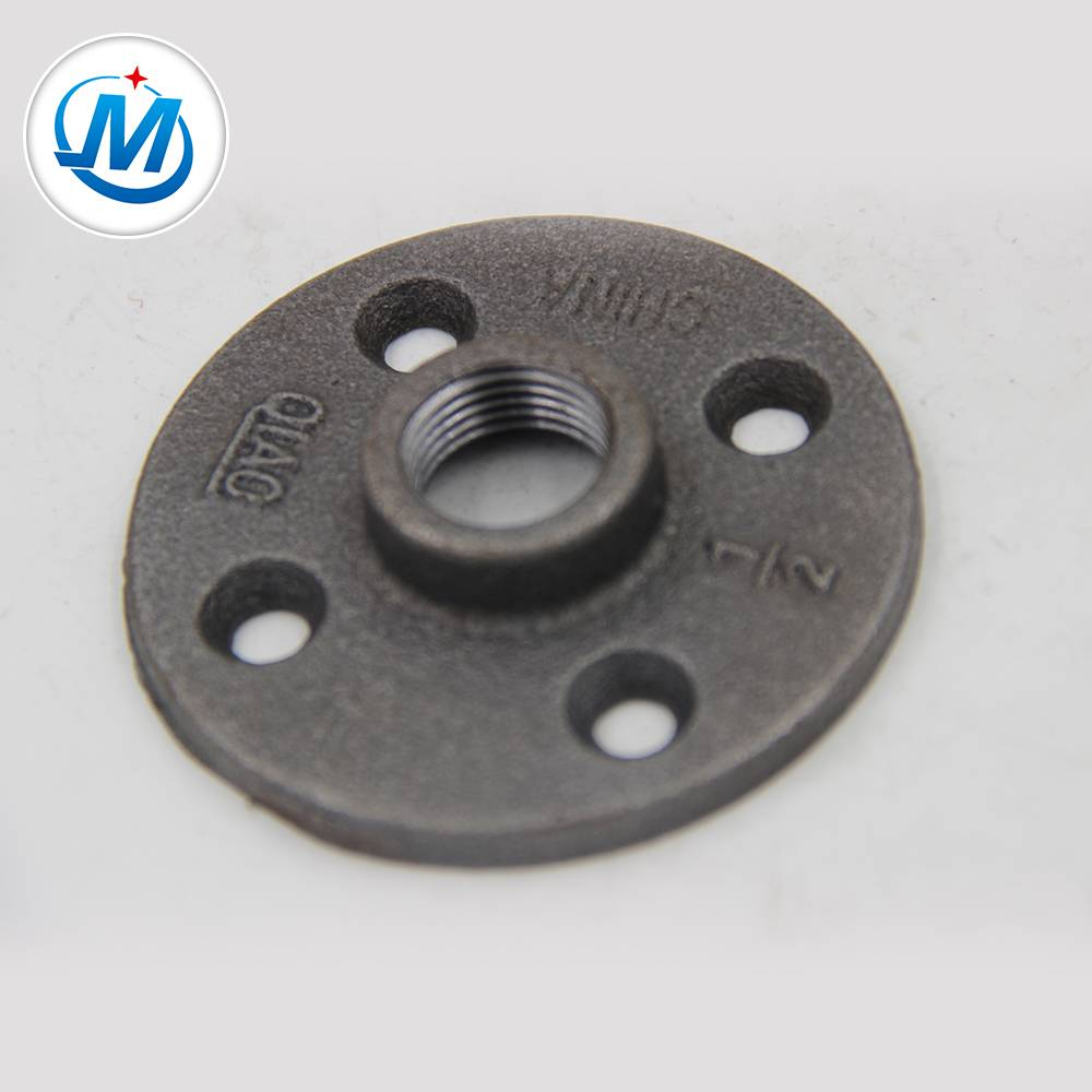 "3/4"" DIN standard malleable iron pipe fitting flanges"