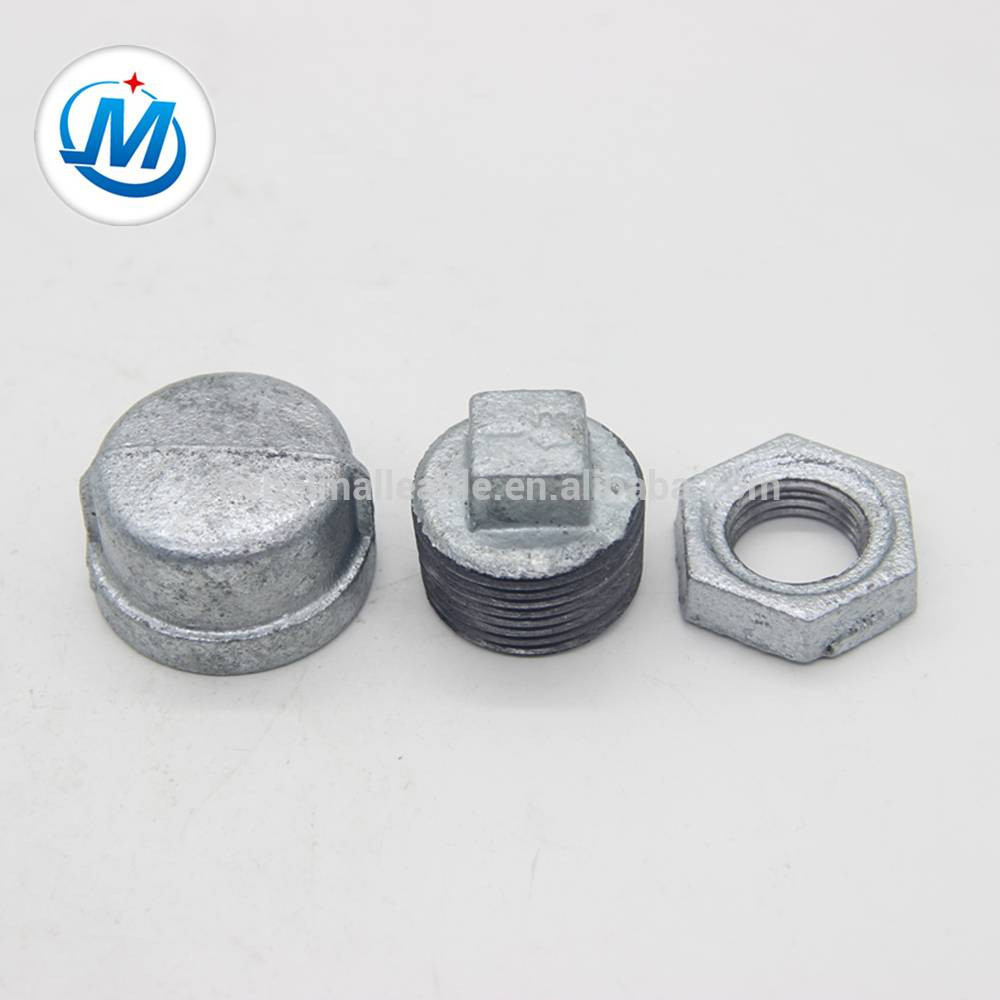 shijiazhuang galvanized casting iron pipe fitting plug