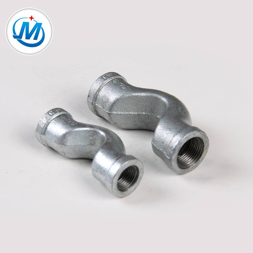 malleable iron pipe fitting banded crossover