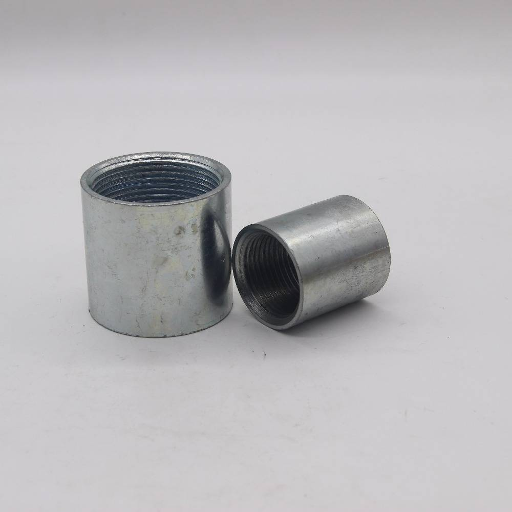 Black Steel Coupling And Use Malleable Iron Pipe Fitting