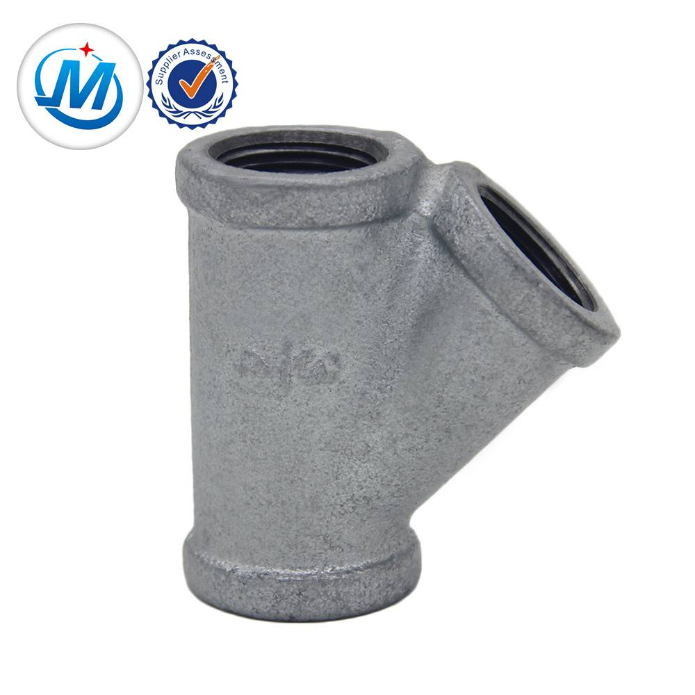 pipe fitting branche .elbow.tee.socket casting iron bv and bs threads