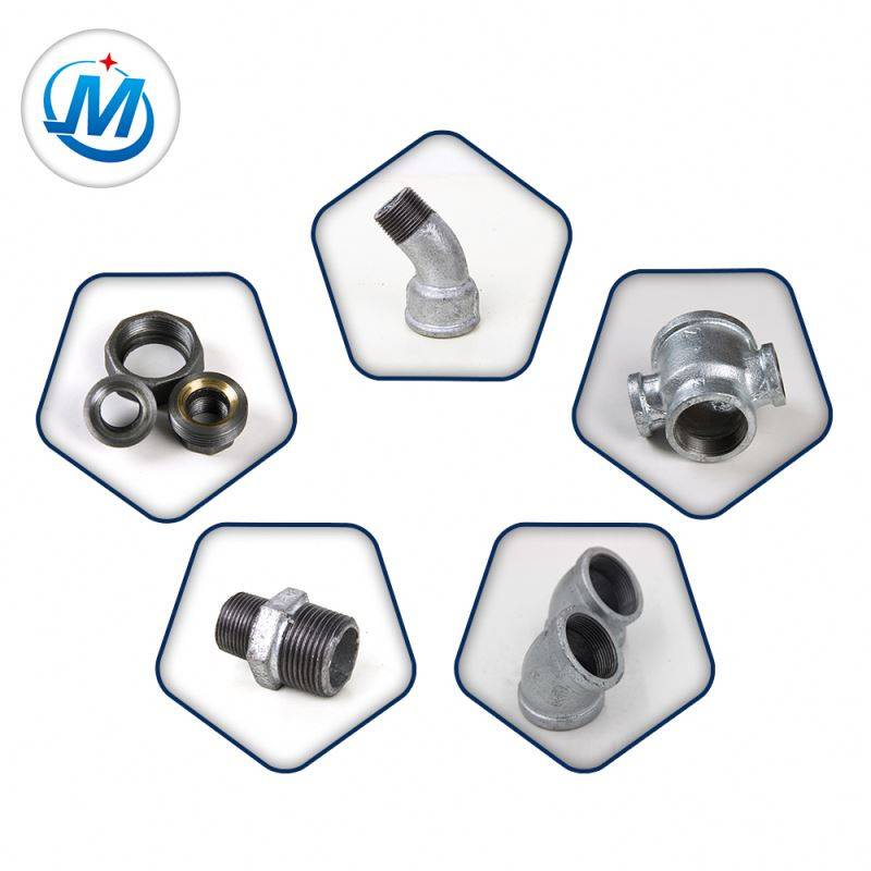 BV Certification BS Malleable Iron Pipe Fittings Gi Water Supply Pipe Fittings