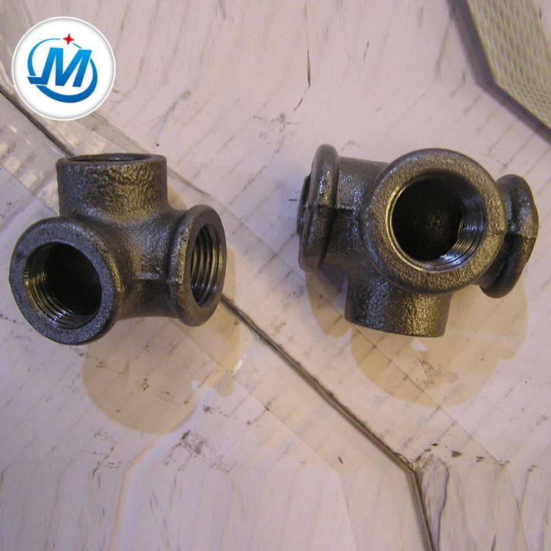 Sell to Asian Competitive Price Galvanized Malleable Iron Pipe Fitting Side Outlet Tee