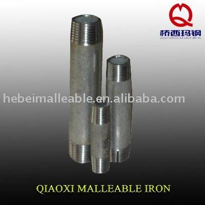 malleable iron pipe fittings house nipples